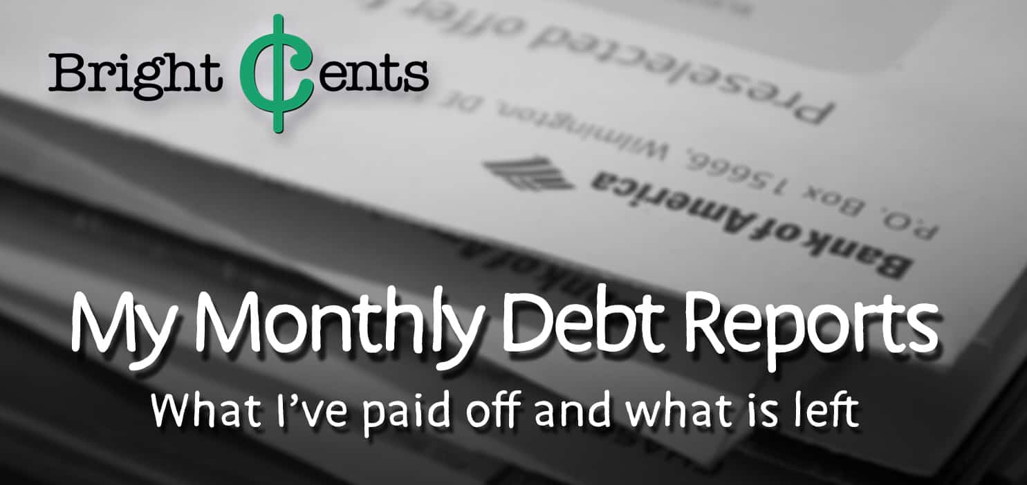 my monthly debt reports
