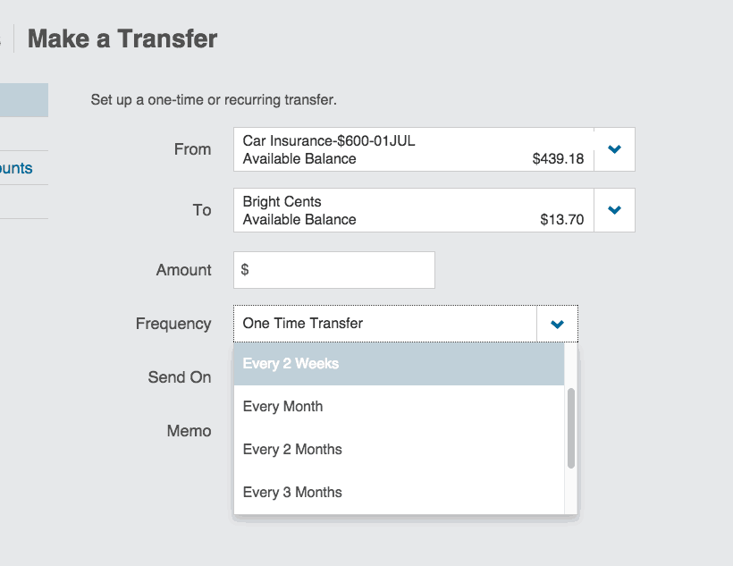 ally automatic transfers