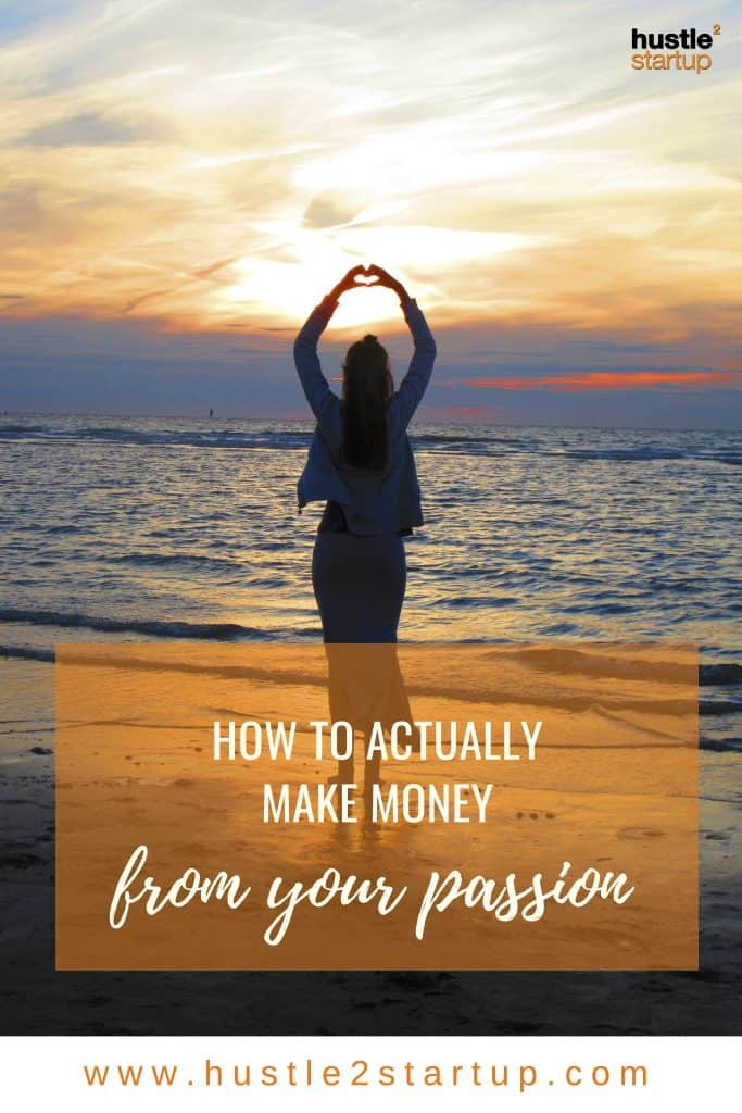 Are you struggling to make money from your passion? Learn how a real artist makes money from her art. #makemoney #passion #moneytips