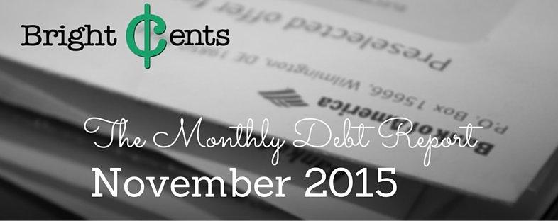monthly debt report 2015 nov