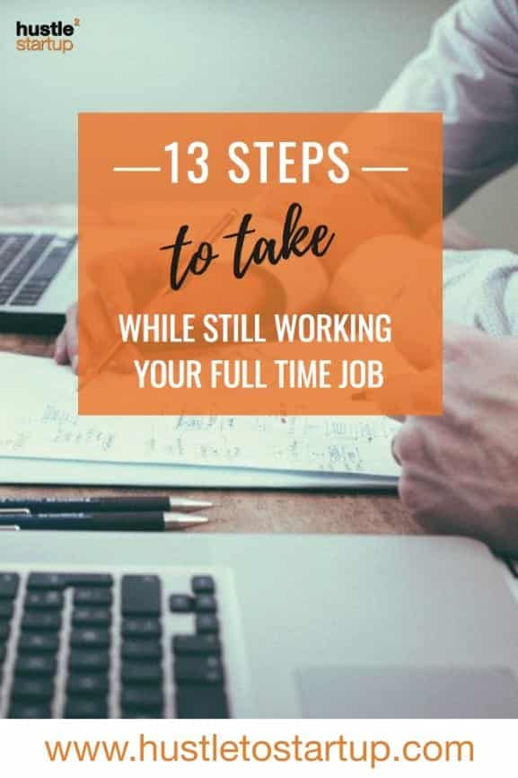 Before you quit your day job, make sure to check out these tips. You'll want to be ready to go all in when you start your own business! | #smallbiz | #startup | #quityourjob