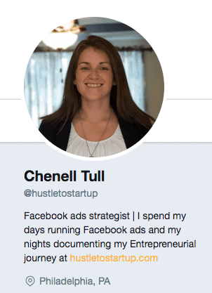 chenell tull twitter