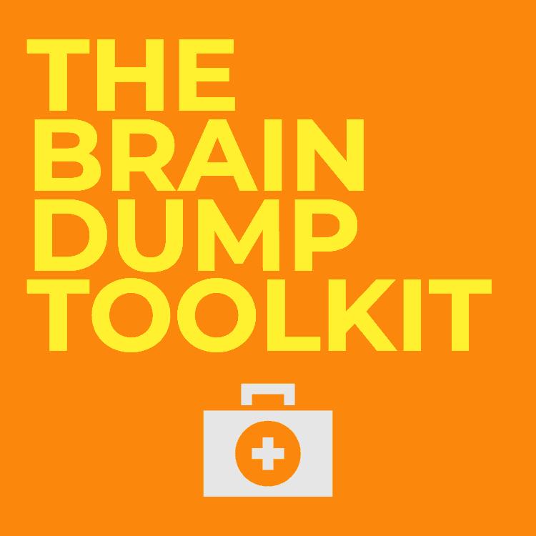 brain dump template