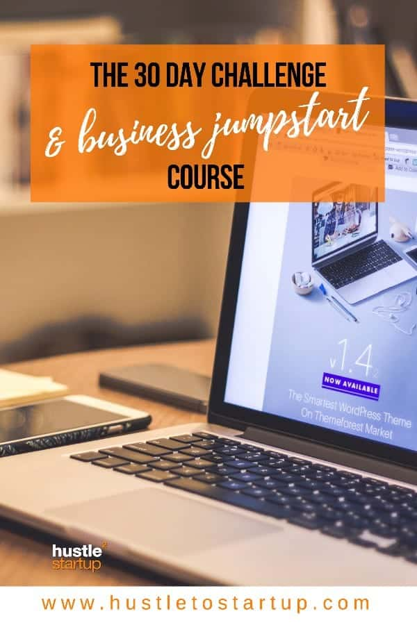 Ready to jump start you business? Get on board this challenge and keep reading all month for tons of great information! | #marketing | #business | #course
