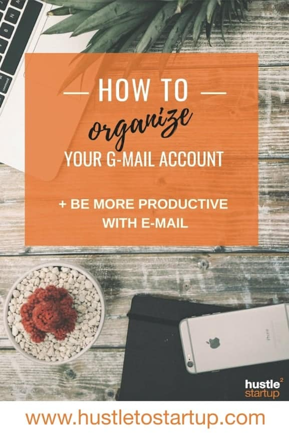 Finally! Read all these tips on getting your gmail account organized and stop wasting time processing your email! | #emailmanagement | #productive | #inboxzero