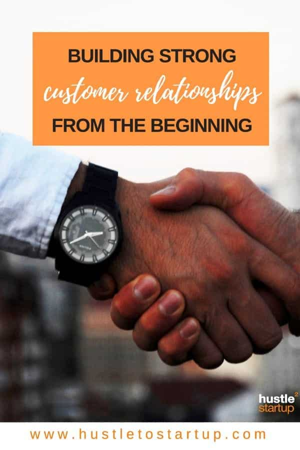 Are you building relationships with your customers? Or just trying to sell to strangers? Read this article to find out how to build customer relationships the right way! | #marketing | #smallbiz | #customers