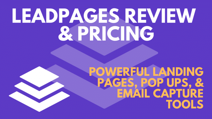 leadpages pricing and plans