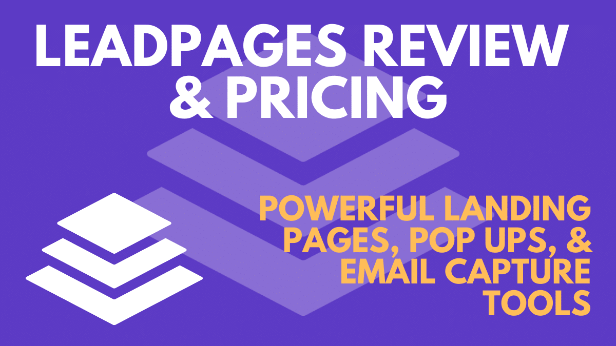 Leadpages Pricing & Plans 2021