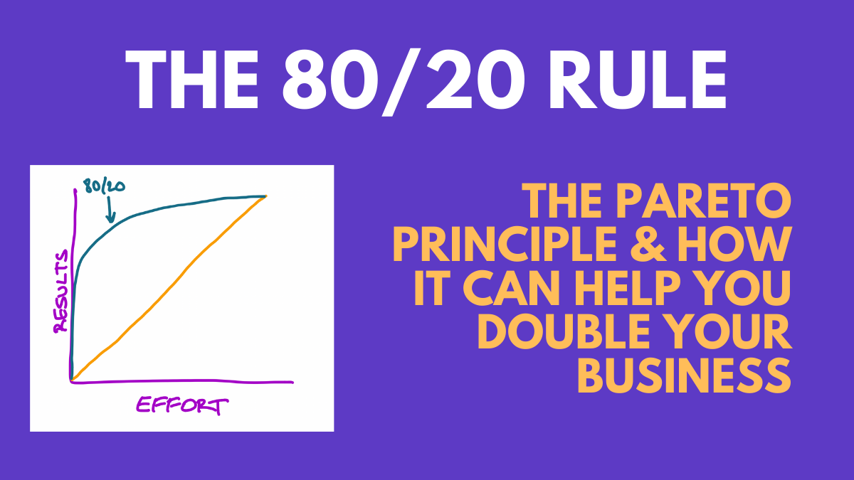 The Pareto Principle and 80/20 Rule [+Charts, Diagrams, & Examples]